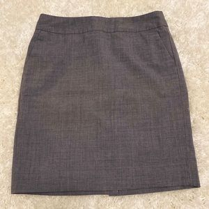 Banana Republic Gray Pencil Skirt-Size 2P